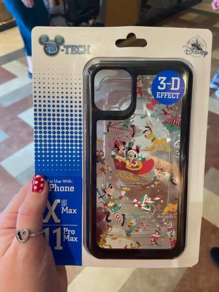 Mickey and Minnie Christmas Phone Case