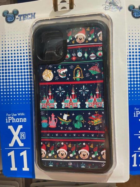 Mickey and WDW attractions holiday phone case