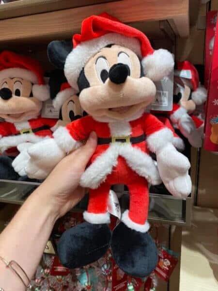 Mickey Mouse christmas plush