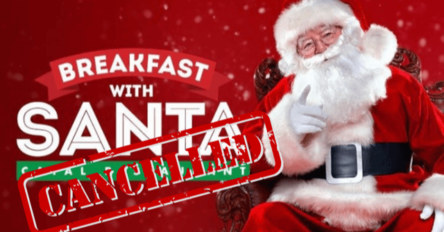 breakfast with santa cancelled at downtown disney