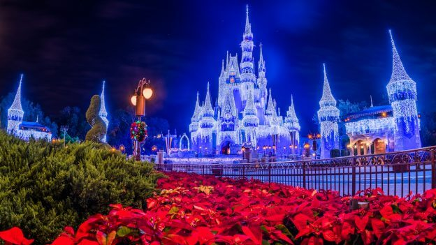 First Look As Cinderella Castle Christmas Decorations Begin To Appear Inside The Magic
