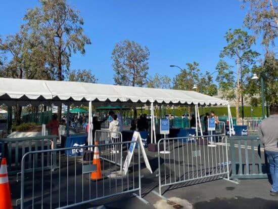 temperature screenings for buena vista street