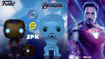 Tony Stark glow in the dark funko pop