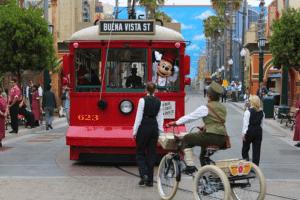 trolley car mickey dca