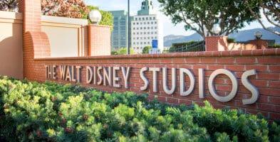 walt disney studios sign