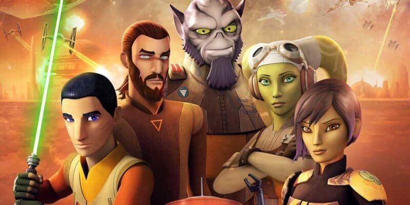Star Wars Rebels animated cast