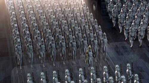 Order 66 clone troopers in 'Attack of the Clones'