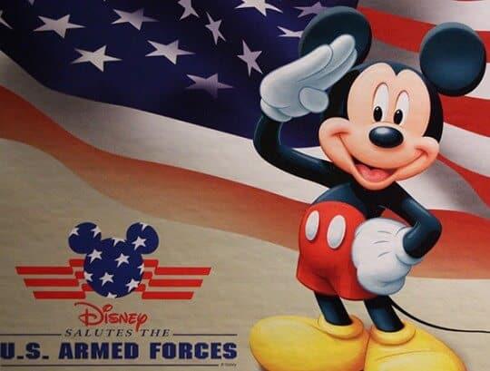 Disney Salutes U.S. Armed Forces