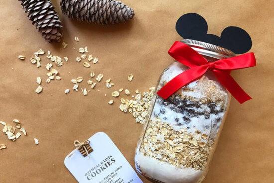 DIY Mickey Mason Jar Cookie Kit