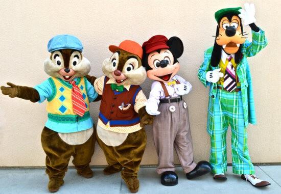 Disney Characters DCA