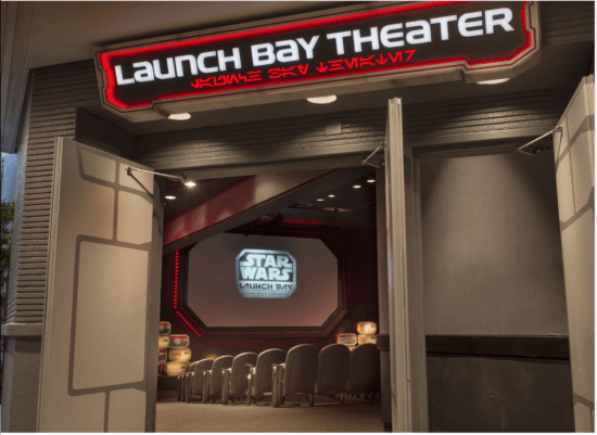 Star Wars Launch Bay Theater