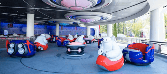 happy ride with baymax