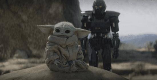 grogu kidnapped by dark trooper on tython
