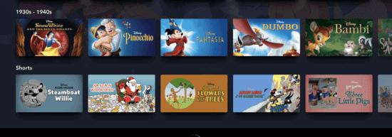 Disney animation studios collection
