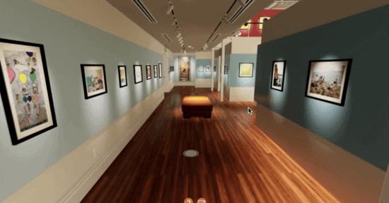 small world virtual exhibit