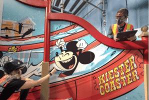 new keister coaster at Disney