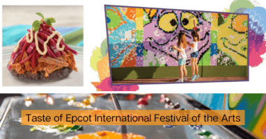 2021 epcot festival of the arts