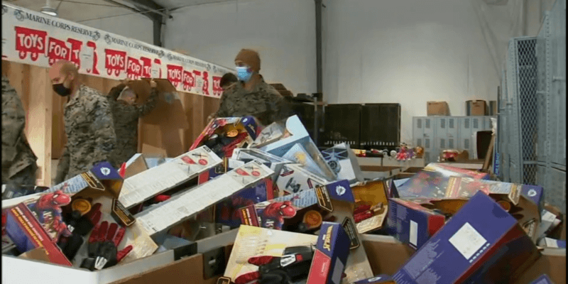 Disney donates to Toys for Tots
