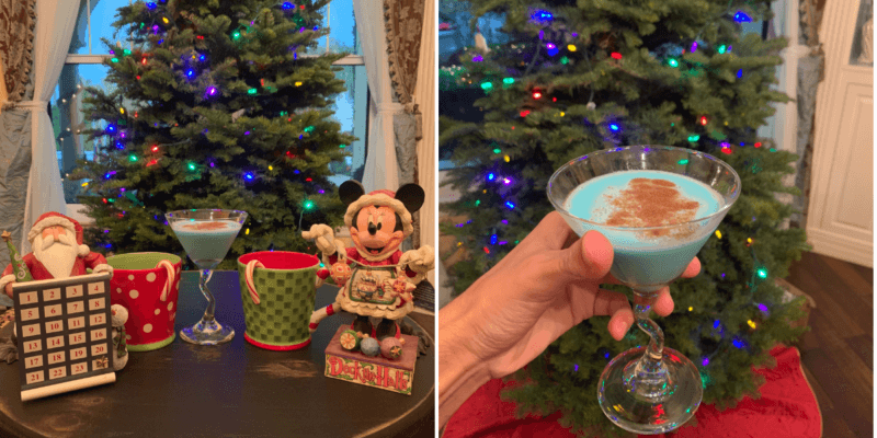 Disney Holiday Cocktails