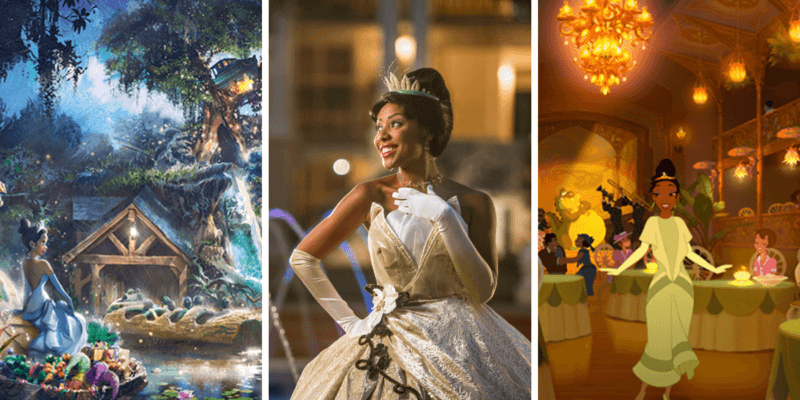 princess and the frog disney parks