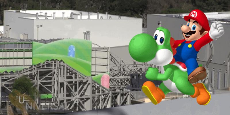 Super Nintendo World Universal Studios Hollywood Construction Update