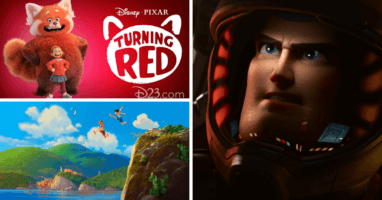 pixar announcements