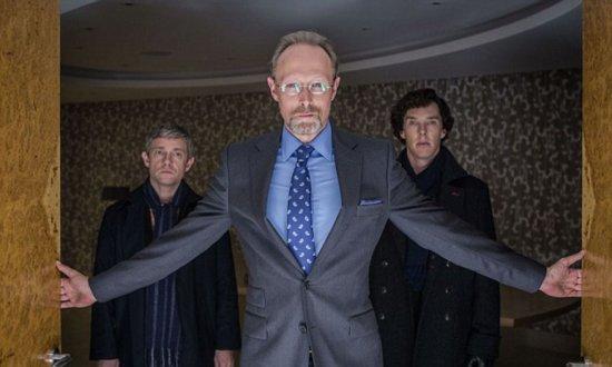 """Lars Mikkelsen in """"Sherlock"""""""