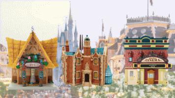 Disney attractions ornaments