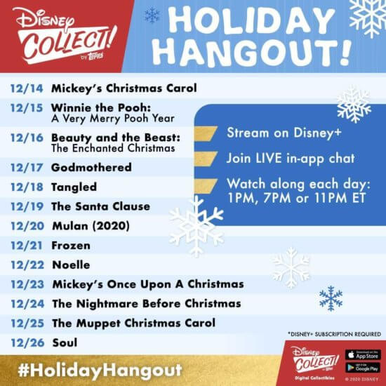 Disney Collect! Holiday Hangout