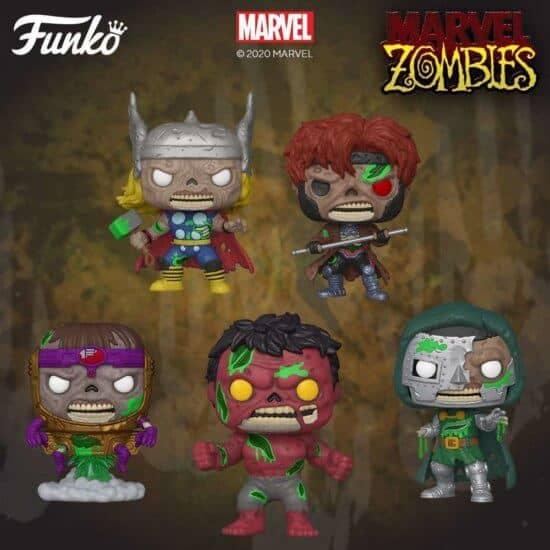 Marvel Funko zombies
