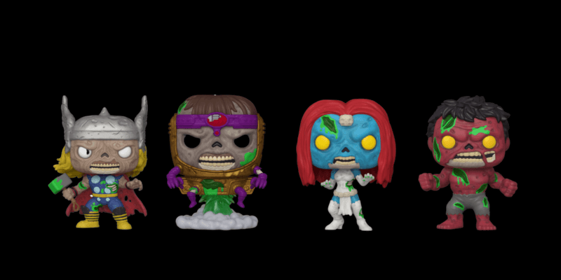 Marvel Zombie Funko Pops