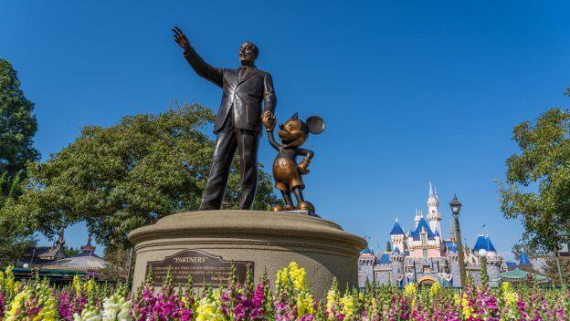 disneyland resort partners statue