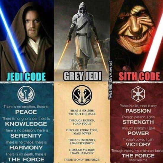 Gray Sith Code