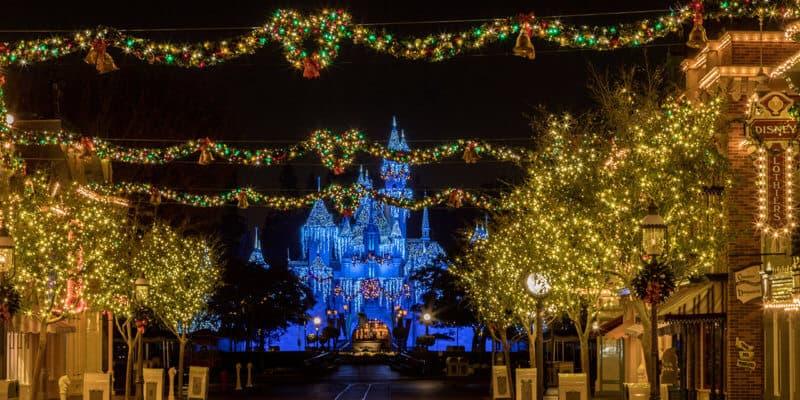 Holidays at Disneyland Resort – Sleeping Beauty's Winter Castle at Disneyland Park