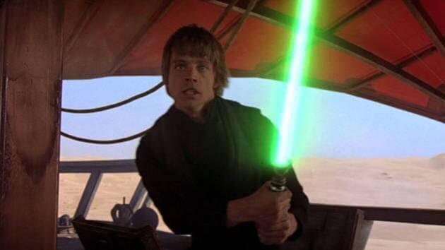 skywalker green lightsaber
