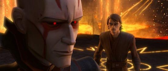 the son and anakin skywalker clone wars