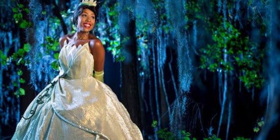 princess tiana disney parks