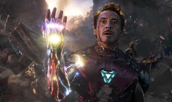 tony stark death avengers endgame