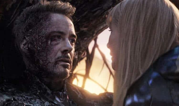 tony stark death.