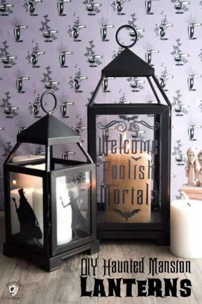 Haunted Mansion Lantern DIY