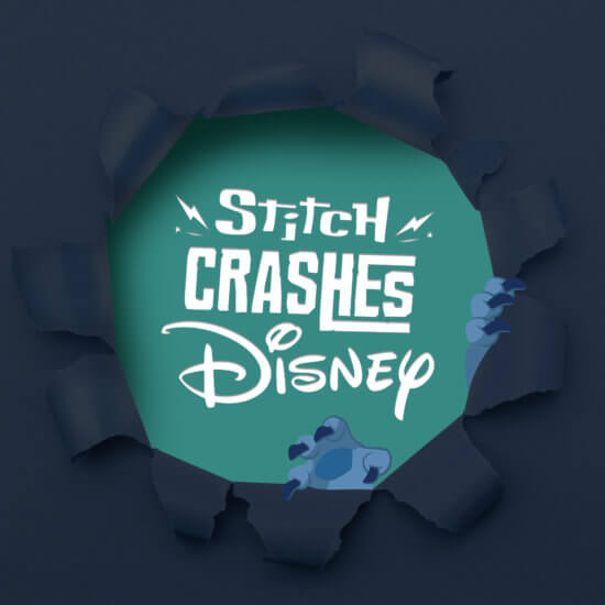 Stitch Crashes Disney photo tease