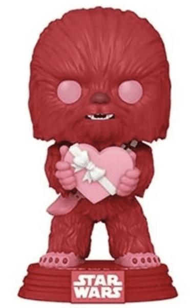 Chewbacca Valentine's Day Funko Pop