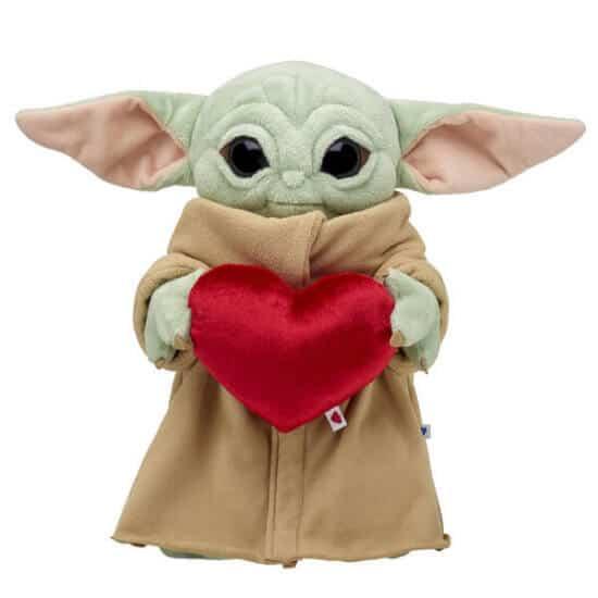 Baby Yoda Valentine Build-A-Bear