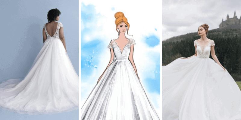Cinderella wedding dress Allure