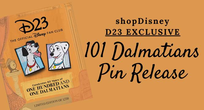D23 101 dalmatians pin release