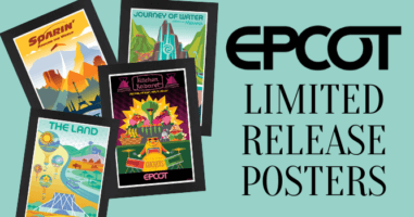 EPCOT Posters Featured Image