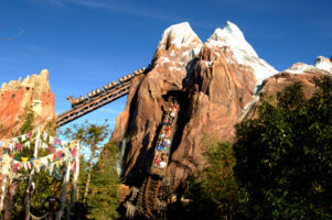Expedition Everest in distance