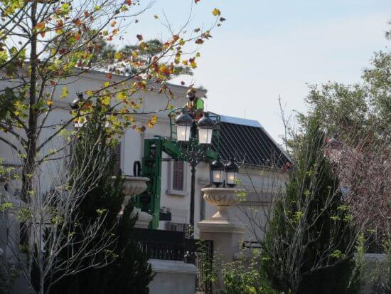 construction EPCOT