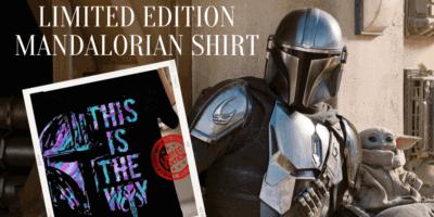 Limited Edition Mandalorian Shirt featured image