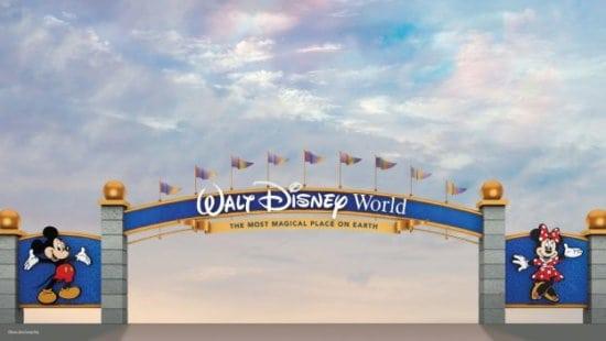 disney world entrance gate concept art